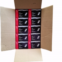 Nitril Handschoenen: Volle Doos Zwart 10 x 100st (Nitras)