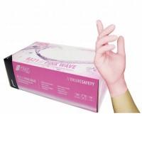 Nitril Handschoenen: Roze 100st (Nitras)