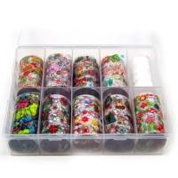 Transfer-Nagelfolie kerst box 10-stuks nr. 2