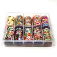 Transfer-Nagelfolie kerst box 10-stuks nr. 5