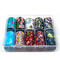 Transfer-Nagelfolie kerst box 10-stuks nr. 6