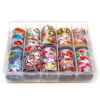 Transfer-Nagelfolie kerst box 10-stuks nr. 8