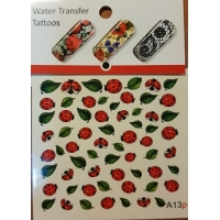 Water tranfer tattoos- Water stickers - A13P