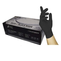 Nitril Handschoenen: Zwart 100st (Nitras)