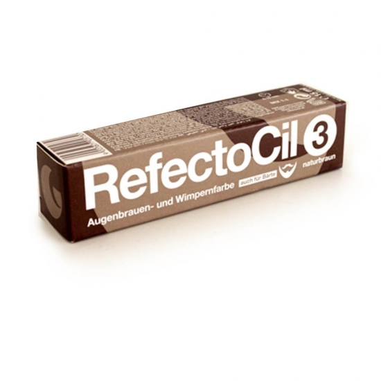 Refectocil nr 3 natuurbruin wimperverf