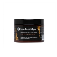 Sara Beauty Spa body contour creamgel coffee ginger 500ml
