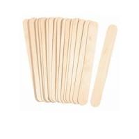 Houten spatels: Breed 100 stuks (150 x 17mm)